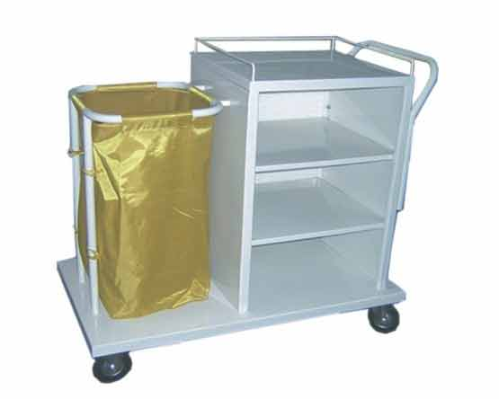 Linen Trolley Manufacturer Soiled Linen Trolley With